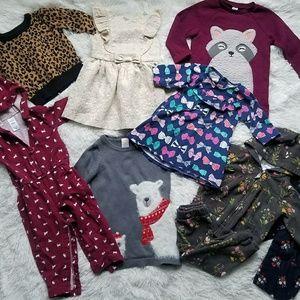 Girl's 18-24M Clothing Lot 9Pcs.